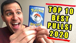 *FINALLY!* My Top 10 BEST Pokemon Cards Pulls (2020 Q2)