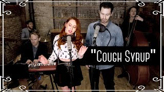 """""""Cough Syrup"""" (Young The Giant) Cover by Robyn Adele Anderson ft. Sean Clapis"""
