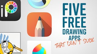5 Free  And Really Good  Drawing & Painting Apps