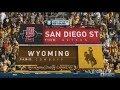 November 19, 2016 - San Diego State Aztecs vs. Wyoming Cowboys Full Football Game 60fps