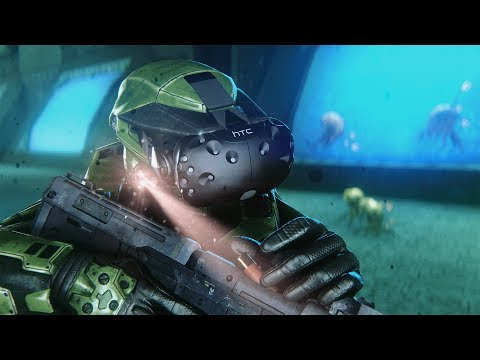 The Library in VIRTUAL REALITY (Halo CE: The Library VR)