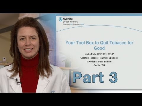 Treatment of Nicotine Dependence and Tobacco Cessation