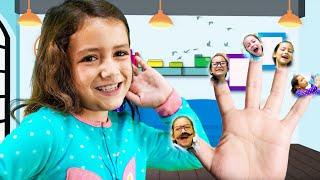 La Familia Dedo Version de Zoey | Divertidas Canciónes Infantiles
