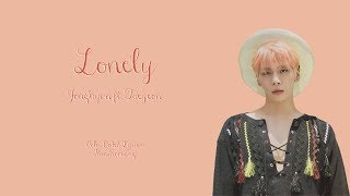 JongHyun ft. Taeyeon - Lonely Color Coded Lyrics {Han|Rom|Eng}