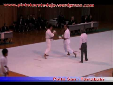 Karate Shotokan JKA - Pinto san Taisabaki