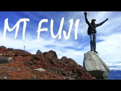 CLIMBING MOUNT FUJI | The Tallest Mountain In Japan