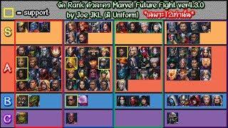 [Marvel Future Fight] ver4.3.0 - แนะนำตัวละครน่าปั้นทั้งแบบไม่ติดยูนิฟอร์มและติดยูนิฟอร์ม