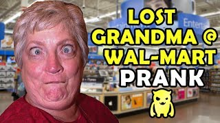 Lost Grandma at Wal-Mart Prank (subtitled) - Ownage Pranks