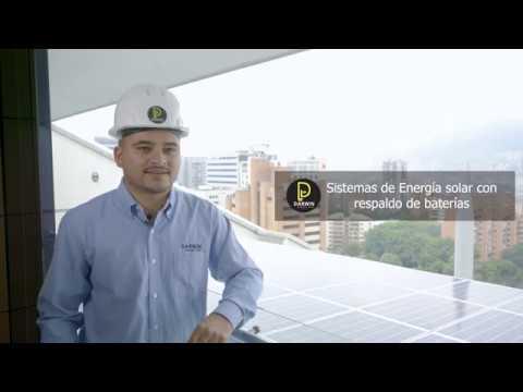 Proyecto Energía Solar Conectado Medellín