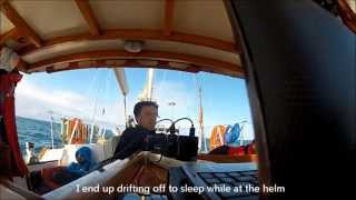 GoPro HD - Aboard a sinking yacht - Highlights of a 600 nautical mile trip...