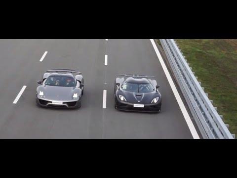 50p] Uncut Porsche 918 Spyder Weissach Package vs Koenigsegg Agera on porsche spyder, porsche gt, porsche macan, porsche boxster, porsche p1, porsche supercar, porsche gt2, porsche hybrid, porsche gt3,