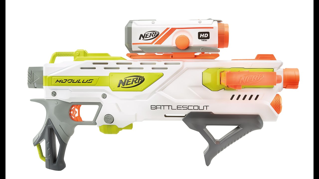 Nerf N Strike Modulus Battlescout Ics 10 Blaster First