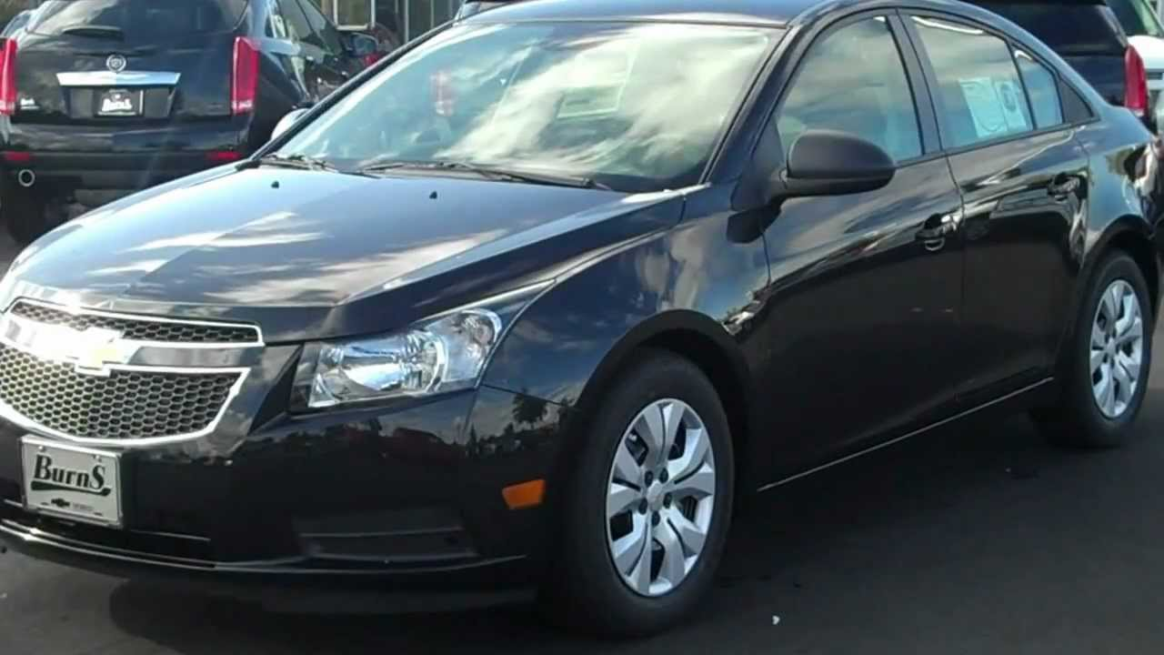 Cruze chevy cruze 2013 eco : 2013 Chevrolet Cruze LS Black, Burns Chevrolet, Rock Hill SC - YouTube