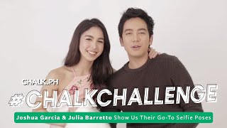 #ChalkChallenge: Joshua Garcia & Julia Barretto Show Us Their Go-To Selfie Poses