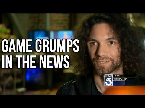 Game Grumps Segment on KTLA 5 | May 25, 2016