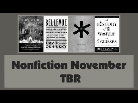 Nonfiction November TBR #NonfictionNovember