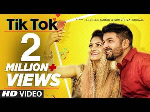 Tik Tok Ruchika Jangid, Somvir Kathurwal Feat. Kapil Kathurwal, Soniya New Haryanvi Video 2019