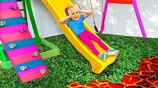 Maya and Mary - The Floor is Lava Song for Children + MORE Kids Songs