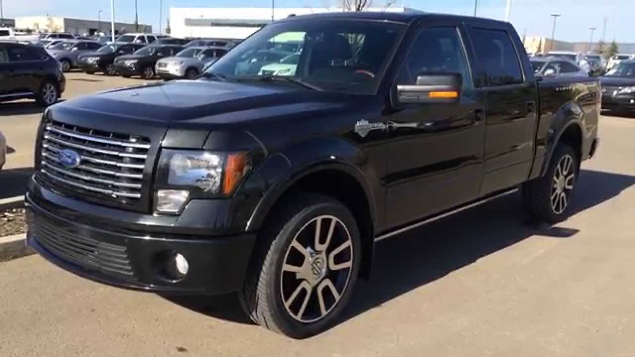 Pre owned 2010 ford f 150 awd supercrew 145 harley davidson walk through review camrose alberta