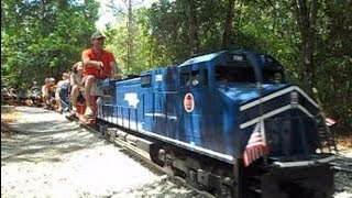 Central Pasco & Gulf Railroad Model Trains You Can Ride On
