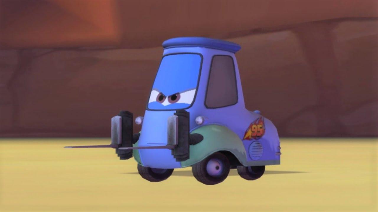 Disney Pixar Cars 2 Guido Gameplay HD - YouTube