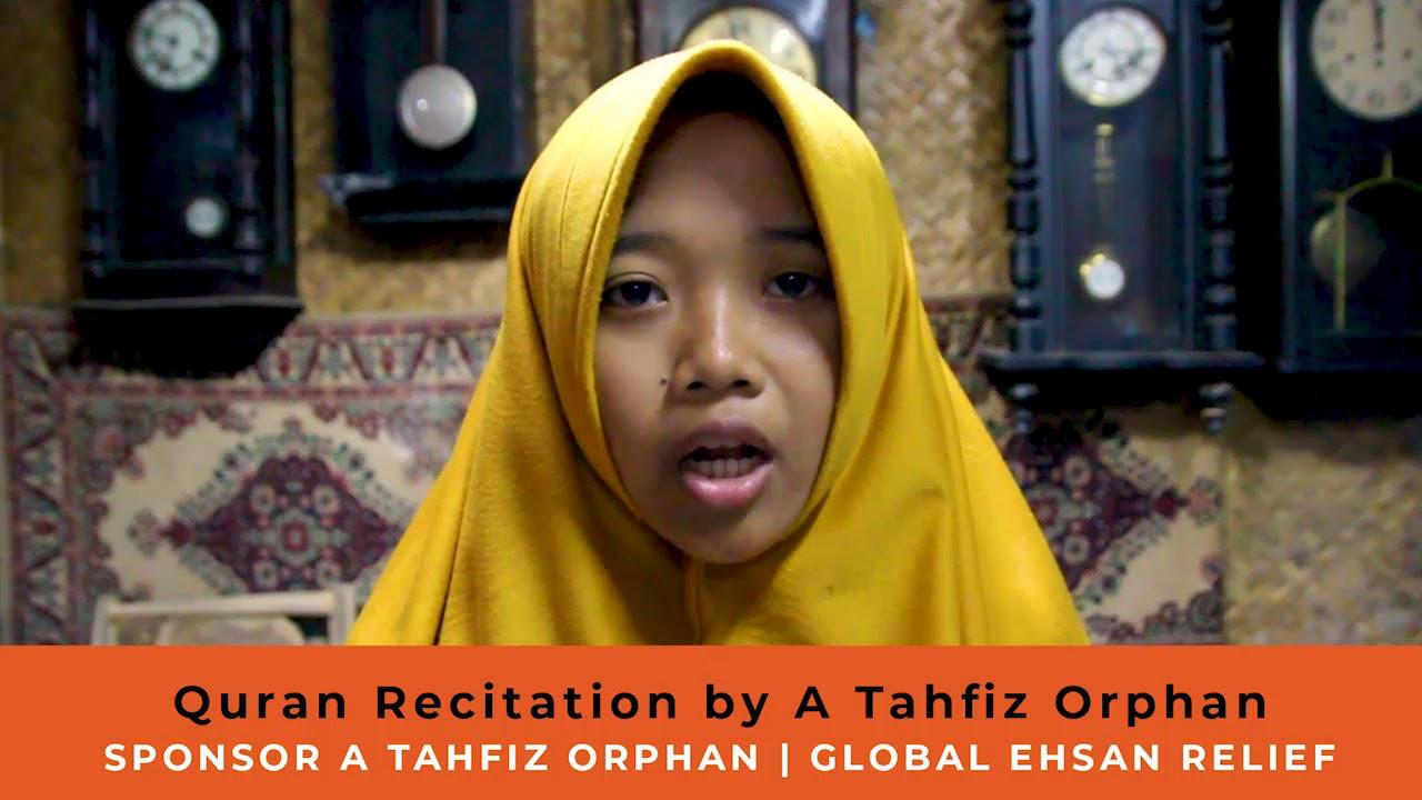 Quran Recitation by Tahfiz Orphan