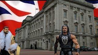 Buckingham Palace London Street Fight!!! | WDW #15 | WWE Mattel Wrestling Figure Fun!!!