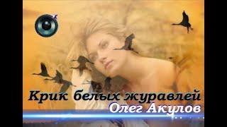Олег Акулов-Крик белых журавлей
