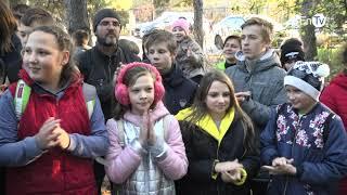 В Энергодаре презентовали проект «Екологічна стежина'' конкурса ДТЭК « Громада своими руками»