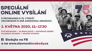 Slavnosti svobody Plzeň - Speciální online přenos 3. května 2020