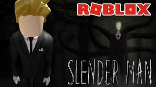 EU SOU O SLENDER MAN no ROBLOX Nightmare Fighters