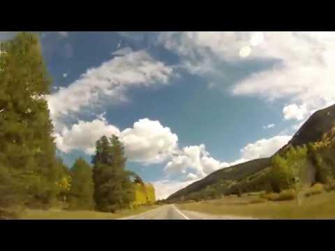 Rifle Gap Reservoir to Hartsel, Colorado Leaf Peeping Time Lapse  09/17/14
