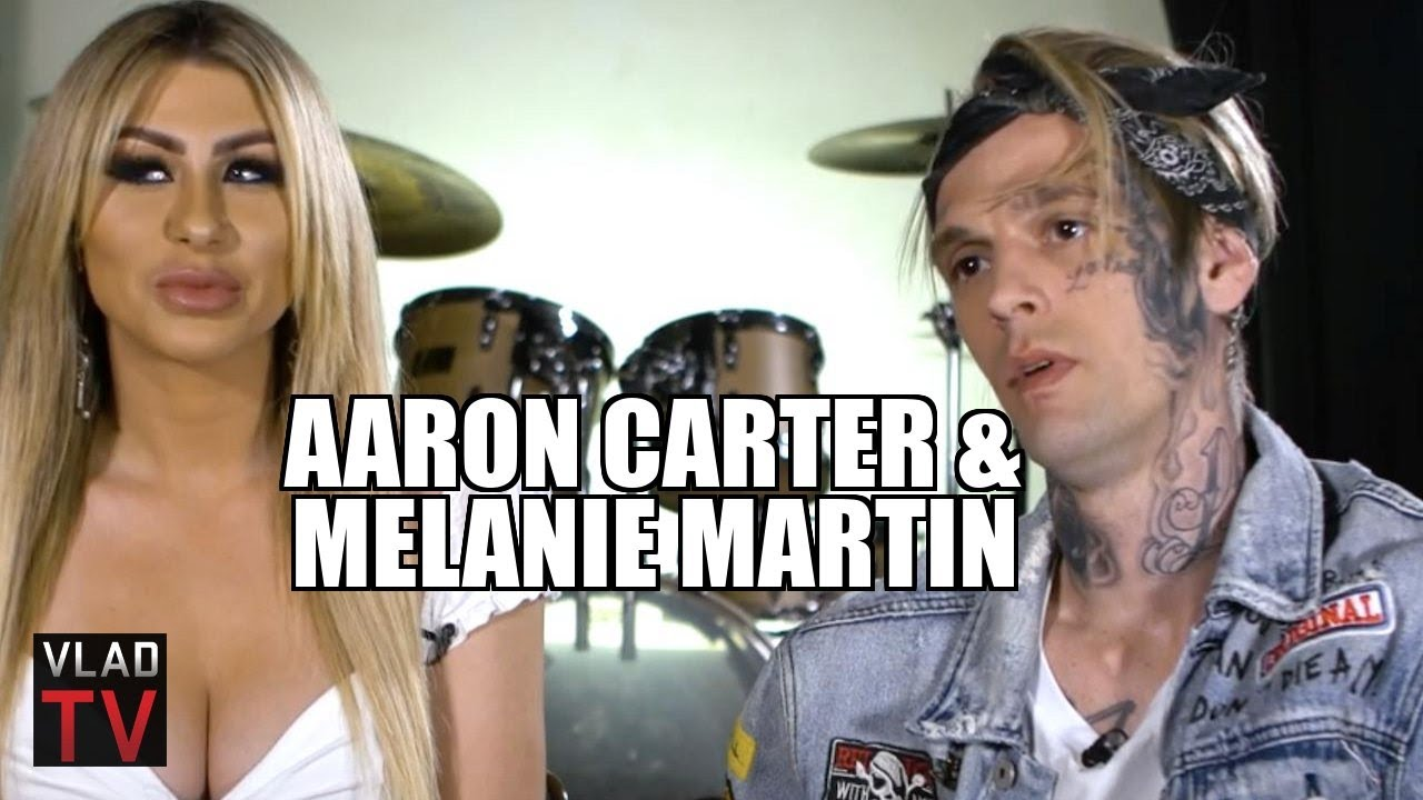 Melanie nackt Martin Aaron Carter