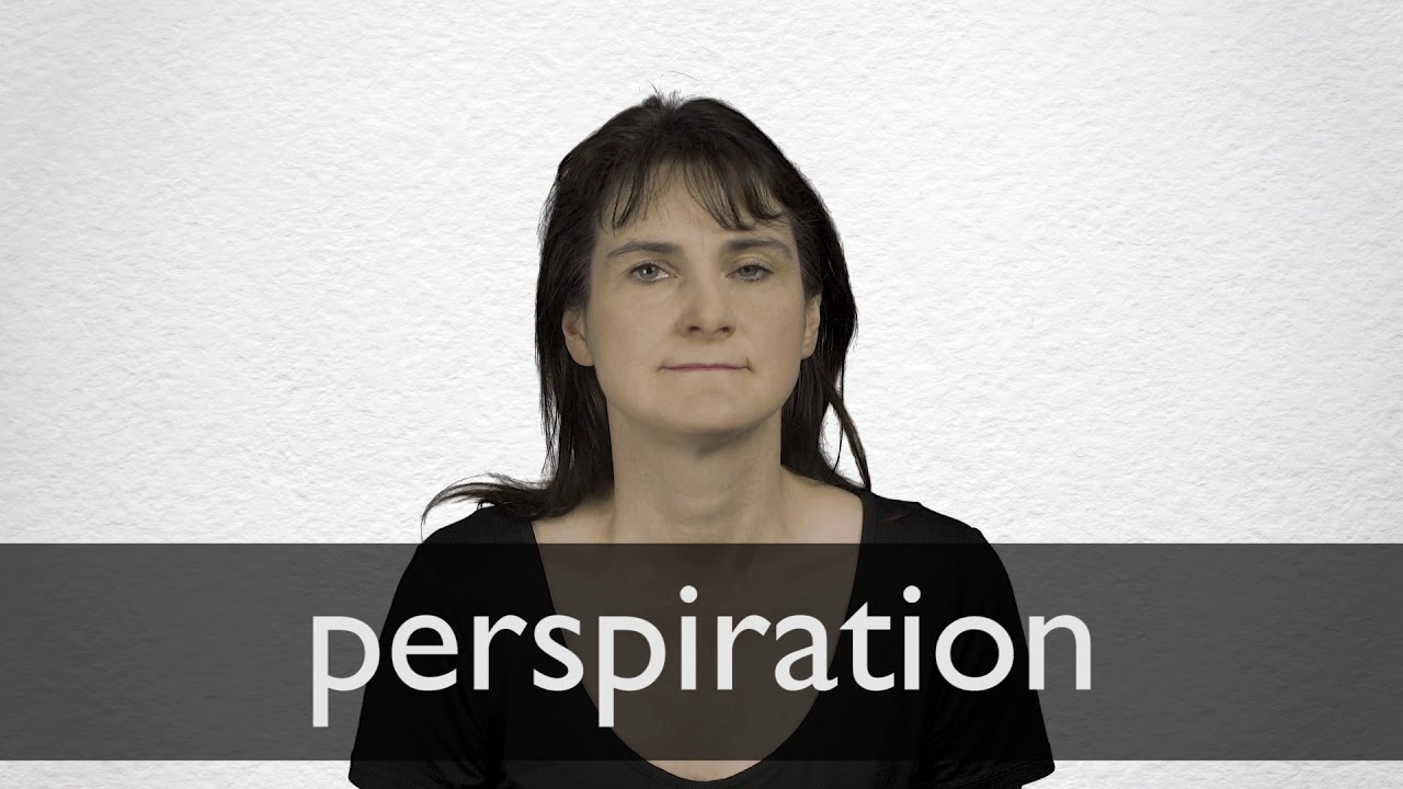 Perspiration Synonyms | Collins English Thesaurus