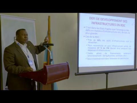 Conférence sur l'Énergie en RD Congo 2017 -Laurent Kahozi
