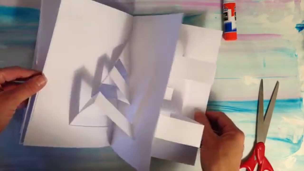 How to make a pop up book youtube solutioingenieria Choice Image