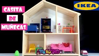 Kit Ikea Casa Per Le Bambole Youtube