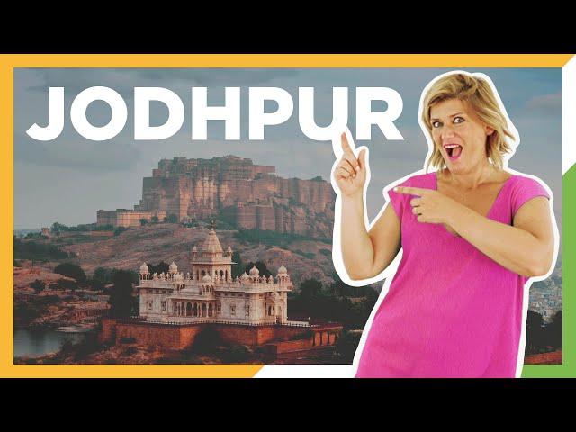 Jodhpur - la cuidad azul del Rajasthan - Viaje por India - ZXM #6