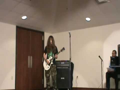 Lee Chavez 13 year old guitarist