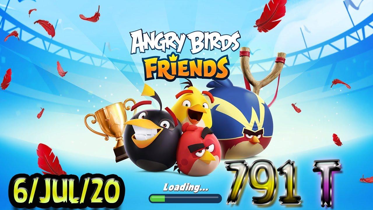 Angry Birds Friends All Levels Tournament 791 Highscore POWER-UP walkthrough