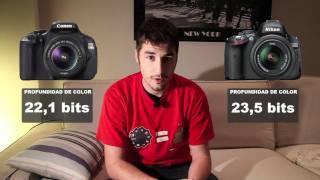 Canon EOS 600D vs Nikon D5100 - Comparativa Digitalrev4U