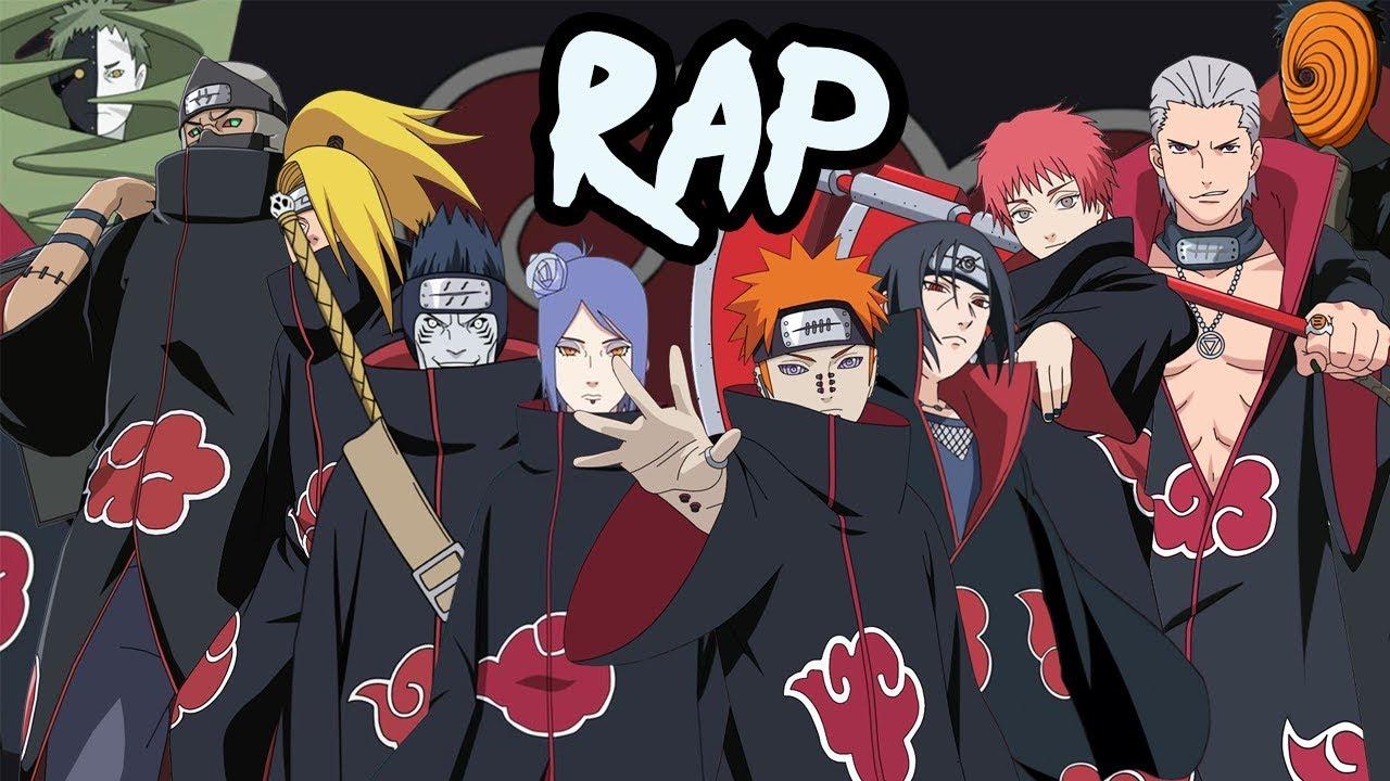 AKATSUKI RAP CYPHER   RUSTAGE ft None Like Joshua, GameboyJones, Eddie Rath  & More [Naruto Rap]