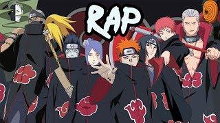 AKATSUKI RAP CYPHER | RUSTAGE ft None Like Joshua, GameboyJones, Eddie Rath & More [Naruto Rap]