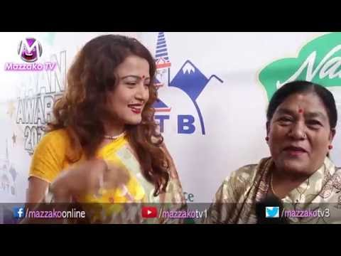 Mazzako Guff with Rekha Thapa & her mother Saraswati Thapa || Mazzako TV
