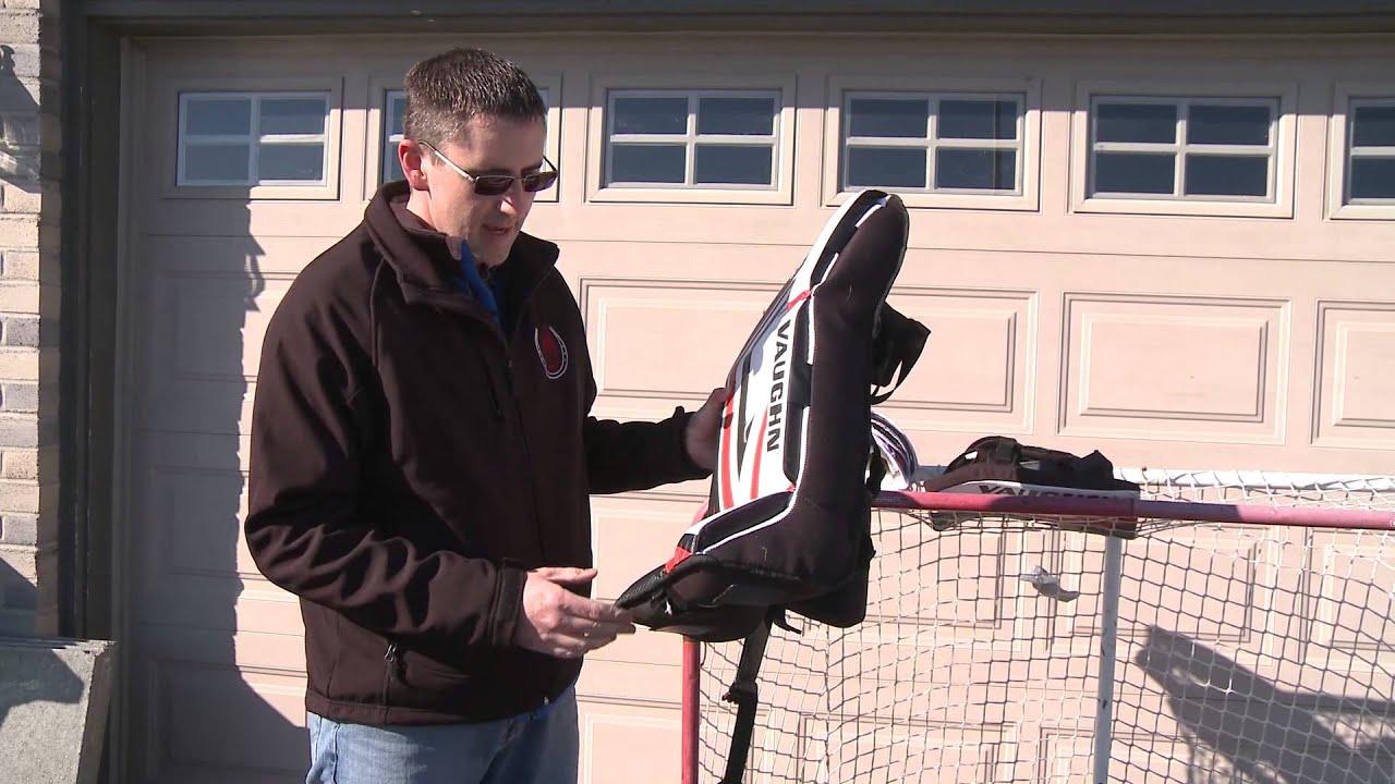 Vaughn Street Hockey Goalie Pads Senior Jeremy S Testimonial
