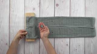 How To Make Hanging Kitchen Towels In 5 Minutes Or Less