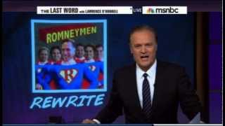 Lawrence O'Donnell Vs Taggart Romney on LastWord MSNBC 10/18/12
