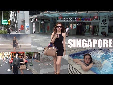 Adventures in ASIA: Our Trip to Singapore. City Walk, Subway Train, Universal Studios, etc...