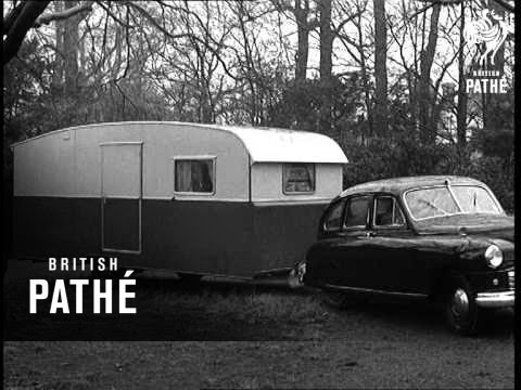 Caravan  Garage  Home  All In One 1950