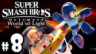 Super Smash Bros Ultimate - World of Light PART 8 - Dr. Wily, Mega Man - Switch Gameplay Walkthrough
